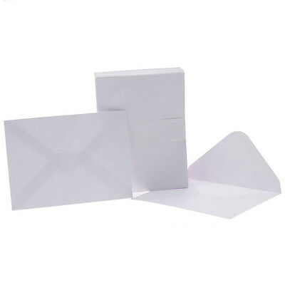 White Envelopes for florist cards. Size: 11.2 x 7.6cm approx. Pack of 100