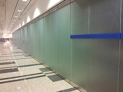 Sand blast Clear Frosted Frosting Window Film 24h Privacy Frost Glass 60cm / 1m
