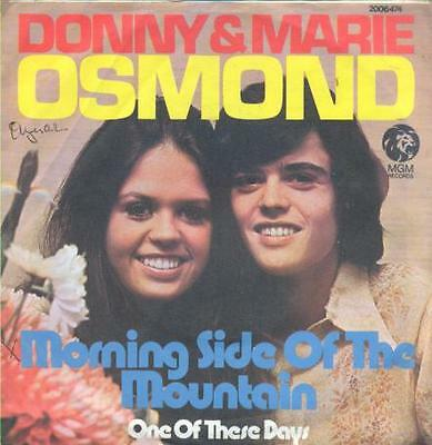 """Donny & Marie Osmond The Osmonds - Morning Side.. R@re 7"""" Single 45 From Austria"""