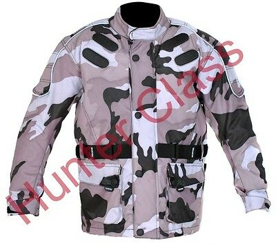Kids motorcycle motorbike CE armour motocross waterproof textile jacket clothing