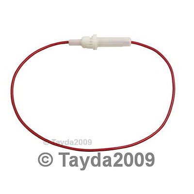 3 x In-Line Fuse Holder For M205 5x20mm Fuses - FREE SHIPPING