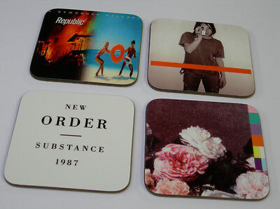 New Order Album Cover COASTER Set