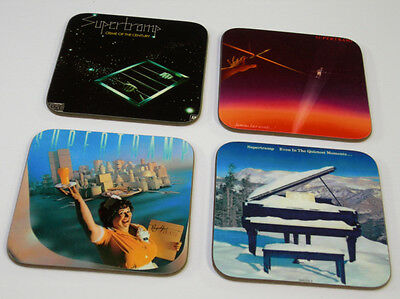 Supertramp Album Cover COASTER Set