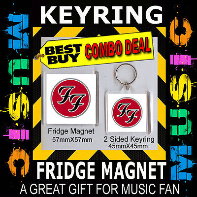 CD COVER PRODUCT 21st CeNturyKEYRING /& FRIDGE MAGNET Green Day