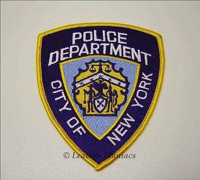 New York Police Patch Abzeichen NYPD