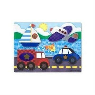 NEW Melissa /& Doug Farm Touch and Feel  Puzzle 4323