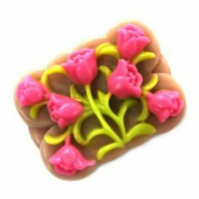 TULIP BOUQUET Silicone Soap/Candle Moulds,mold, DIY, new, high Quality,Create