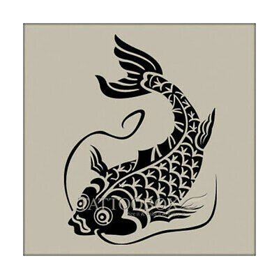 REUSABLE AIRBRUSH STENCILS Temporary Tattoo Stencils - Eagle (Large