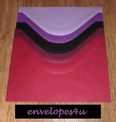 High Quality Coloured C5 Envelopes for A5 Cards 100gsm for Wedding invitations