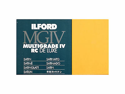 Carta Stampa Bianco/Nero Ilford Multigrade IV RC Deluxe 18x24x25 Opaca MG4RC25M