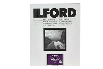 Carta Stampa Bianco/Nero Ilford Multigrade IV RC Deluxe 13x18x25 Perla MG4RC44M