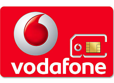 1x VODAFONE PAY AS YOU GO 3G SIM CARD NEW VODAPHONE VODA UK NETWORK PACKAGE SIMS
