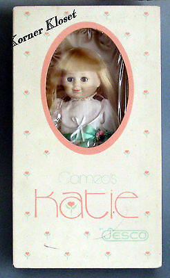 """Cameo's Katie 9"""" Doll by Jesco 1984 - Mint in Box"""