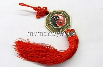 Feng Shui Oriental Chinese Yin Yang Protection BAGUA MIRROR Amulet Cure Charm