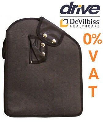 Zipped Replacement Bag For Tri Wheel Walker 3 Wheeled Walking Aid Rollator