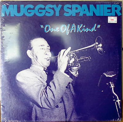 BUGGSY SPANIER: One of a Kind-SEALED1983LP 1954 Rec'd'g