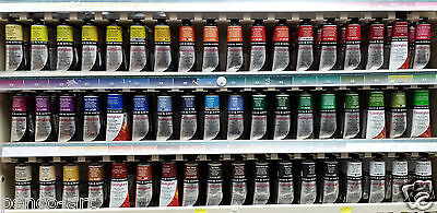 Daler Rowney Georgian oil paint 75ml tube Green through to black also see list 1