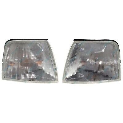 Falcon EA EB ED Clear Indicator Flasher Lamps Lights X2