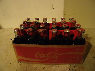 Collectable Coke Classic Celebrating 100 years of Olympic Tradition Case Bottles