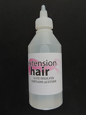 Hair Extension tape remover bond remover with citrus oil 100 ml & instructions