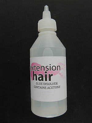 Hair Extension tape remover  bond remover  pre bonded removal fluid 100 mil