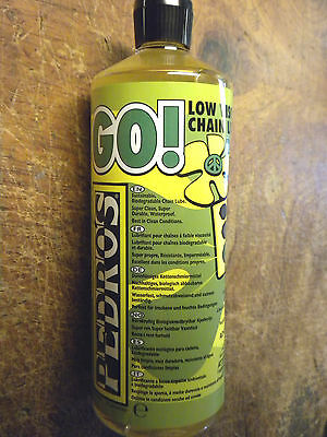 Pedros Go! Biodegradable Waterproof Chain Lube . . One Liter . . 80% OFF MSRP!
