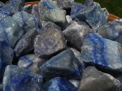 3000 Carat Lots of Blue Quartz -  High Quality - Plus a FREE Faceted Gemstone