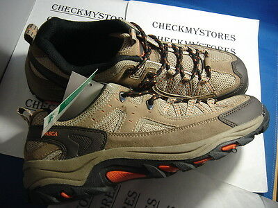 NIB new  Itasca ™ Belmar Low Hikers brown shoes #452051 high traction