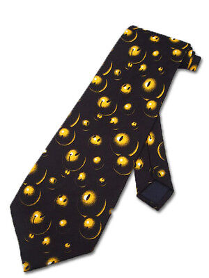 NEW YELLOW SMILEY FACES NECKTIE EMOTICONS SMILY TIE