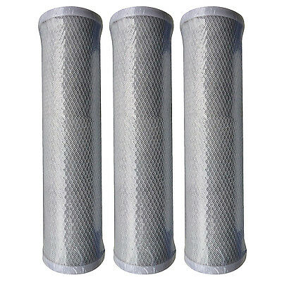 3 x Reverse Osmosis RO Unit Carbon Block Filter Cartridges