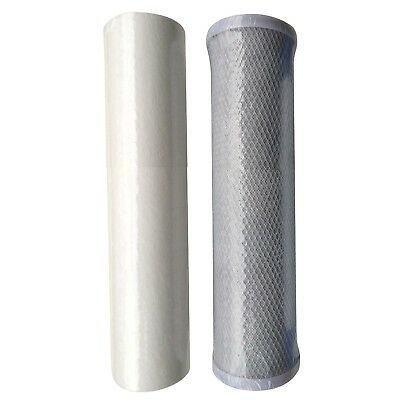 Reverse Osmosis RO Unit Filter Kit 1 x Sediment and 1 x carbon filter Cartridge