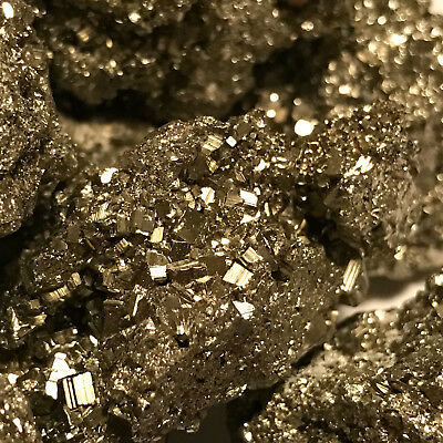 500 Carat Lots of Unsearched Natural Pyrite Rough + a FREE Faceted Gemstone