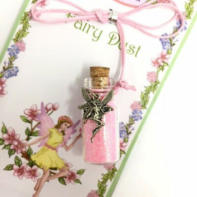 Fairy Pixie Dust Necklace Enchanting Fairy Dust In 3Cm Glass Bottle