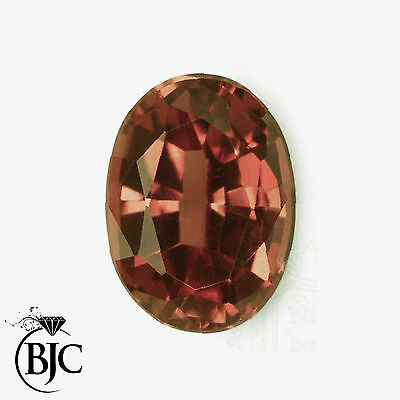 BJC® Loose Natural Garnet Oval Cut Red - Brown - Pink Great Colours & Cuts