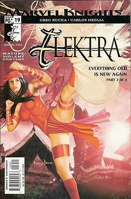 Elektra #19 (Marvel Knights) 2001 Series