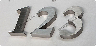 House/ Street Number- Stainless Steel Number /3D Sign Letter-120mm High