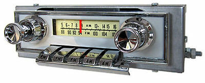 1964 Ford Galaxie AM FM Stereo Bluetooth® Radio Fully assembled in the USA!
