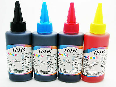 4x Recarga de Tinta Color para Impresora Inyeccion Hp Canon Lexmark Brother 561