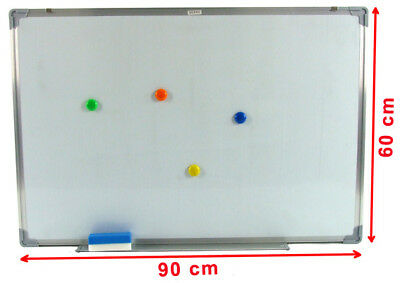 New Magnetic White Office Portable Board Whiteboard With Free Buttons & Eraser