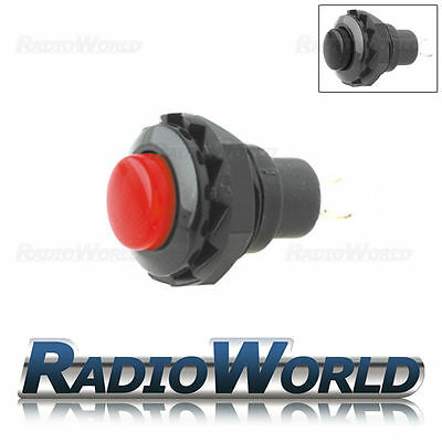 1.5a 12v Push Button Switch Momentary (ON) - OFF SPST Car Dash Horn Engine Start