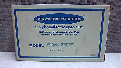 Banner Fiber Optic Cable Bam.752S New 17220 Bam752S