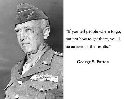 General George S. Patton World War 2 WWII Quote 8 x 10 Photo Picture #gp7