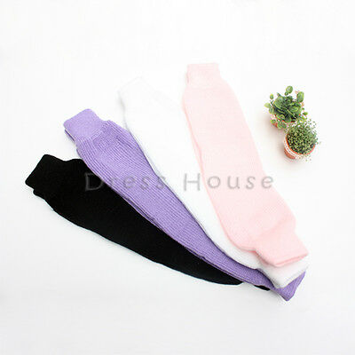 Girls Boys Toddler Ballet Dance Leg Warmers Knitted Made In Korea