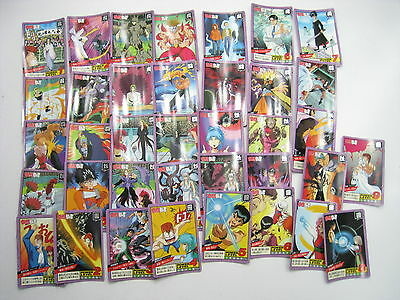 Anime Yu Yu Hakusho Super Battle Carddass Card Set E Japan Bandai