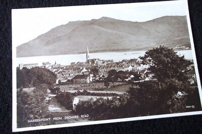 Old Postcard Of Warrenpoint From Dromore Road
