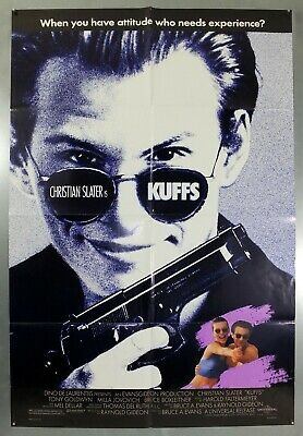Kuffs - Christian Slater / Milla Jovovich - Original American 1Sht Movie Poster