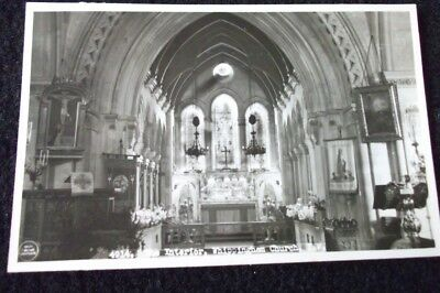 Old Postcard Of The Interior Whippingham Church