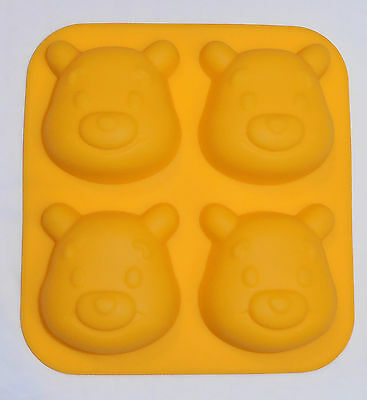 Silicone Baking Mould - Winnie the Pooh - Party or Lunchbox Treats - Brand New