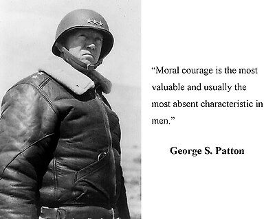 General George S. Patton World War 2 WWII Quote 8 x 10 Photo Picture #hb2
