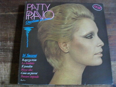 "Patty Pravo  ""Questione Di Cuore""  Lp"